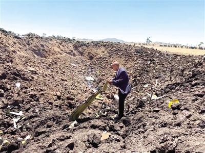 埃塞俄比亚波音737客机坠毁无人生还 8名中国乘客遇难