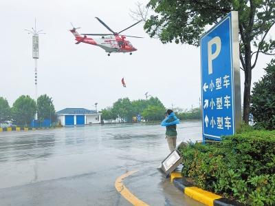 河南空中救援更方便 将在24对高速服务区布设停机坪